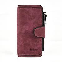 Женский кошелек клатч портмоне Baellerry Forever N2345 бордовый