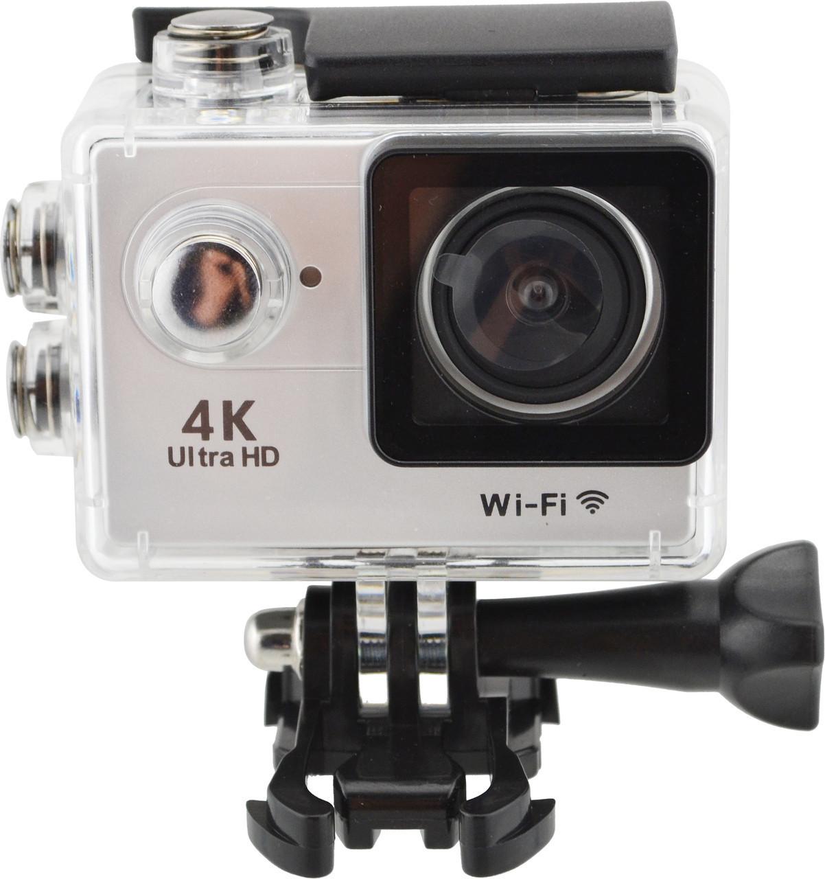 Водонепроникна спортивна екшн камера Delta H16-5 4K Wi Fi Silver