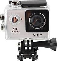 Водонепроницаемая спортивная экшн камера Delta H16-5 4K Wi Fi Silver