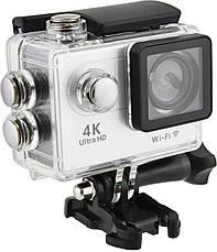 Водонепроницаемая спортивная экшн камера Delta H16-5 4K Wi Fi Silver, фото 2