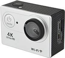 Водонепроникна спортивна екшн камера Delta H16-5 4K Wi Fi Silver, фото 2