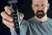 Аккумуляторный многофункциональный мужской триммер MICRO TOUCH Solo, фото 3