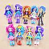 "Набор кукол 9в1 Литл Пони ""Девочки из Эквестрии"", 13 см - (My Little Pony Equestria Girls Minis School Dance), фото 2"