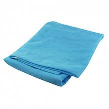 Пляжний килимок підстилка антипесок Sand-free Mat Блакитний, фото 3