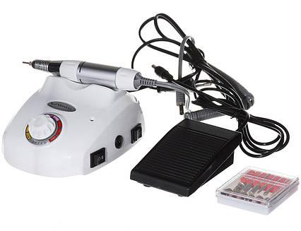 Профессиональный фрезер Beauty Nail Master DM-208 Glazing Machine 00073 для маникюра педикюра 30W белый, фото 2
