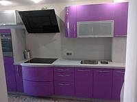 Кухня с радиусными фасадами МДФ