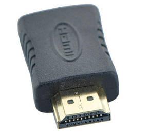 HDMI M (male) to HDMI F (female) з'єднувач перехідник адаптер прямий (для з'єднання / подовження HDMI, фото 2