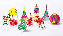3D ручка для малювання з екраном + пластик, фото 3