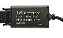 Светодиодные автомобильные лампы Turbo Led T6 H7 35W 3500LM 6000K, фото 3