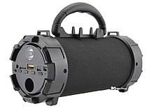 Портативна Bluetooth колонка UKC F18 NEW Black, фото 2