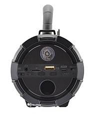 Портативна Bluetooth колонка UKC F18 NEW Black, фото 3