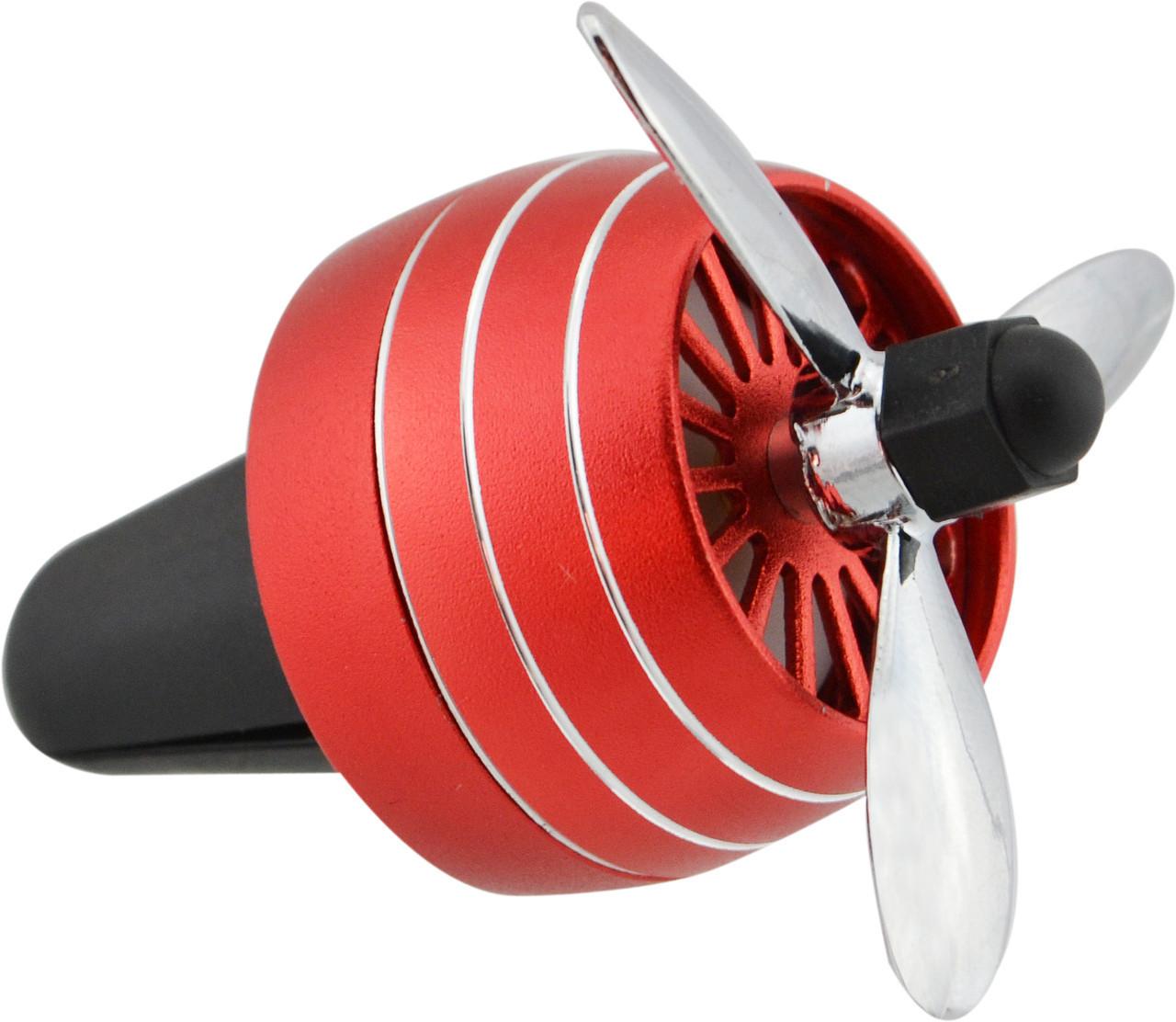 Автомобильный ароматизатор CFK-03-A пропеллер на дефлектор Red