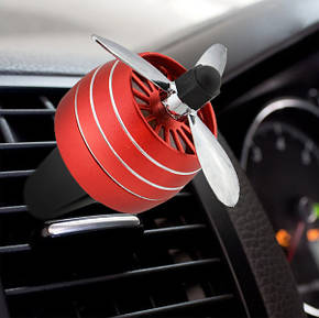 Автомобильный ароматизатор CFK-03-A пропеллер на дефлектор Red, фото 2