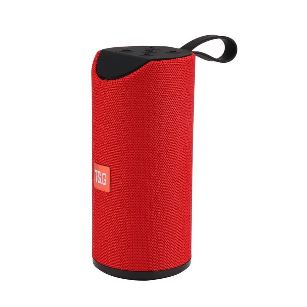 Портативна bluetooth колонка вологостійка TG-113 Червоний