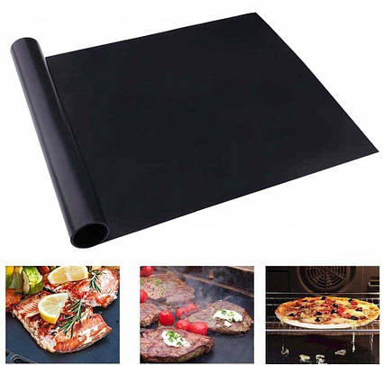 Антипригарный коврик гриль мат BBQ grill sheet 33*40 см, фото 2