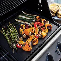 Антипригарный коврик гриль мат BBQ grill sheet 33*40 см, фото 3