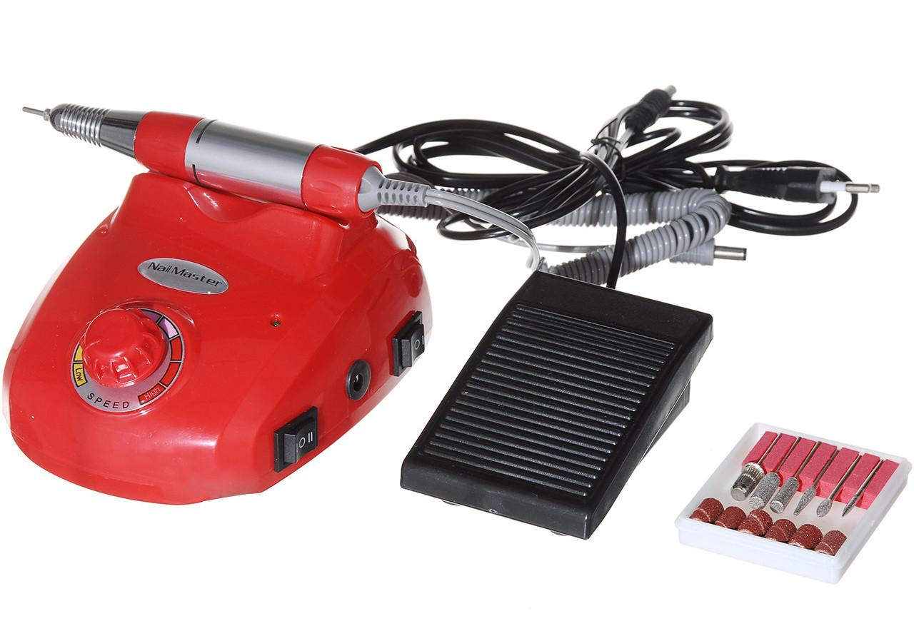Професійний фрезер Beauty Nail Master DM-208 Glazing Machine 00073 30W червоний