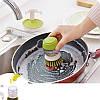 Щітка для миття посуду з дозатором JOSEPB JOSEPB Palm Crub Сірий, фото 3