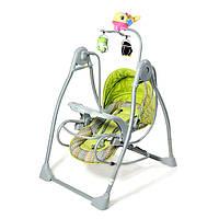 Укачивающий центр, колыбель-качели Tilly со съемным столиком, 3 цвета