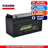 Тяговый GEL аккумулятор Fisher 100a/h (Тяговый аккумулятор Фишер);