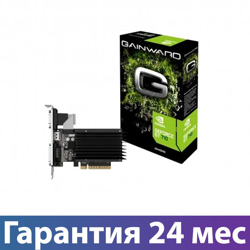 Видеокарта GeForce GT710, Gainward, 2 Гб DDR3, 64-bit (426018336-3576), відеокарта