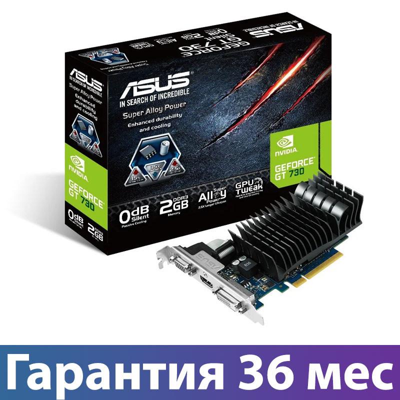 Видеокарта GeForce GT730, Asus, 2 Гб DDR3, 64-bit (GT730-SL-2GD3-BRK), відеокарта