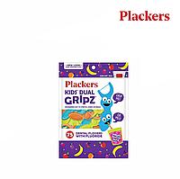 Детские флоссы с держателем Plackers (фруктовый смузи), 75 шт, фото 1