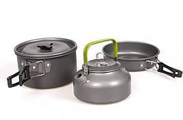 ✅ Набор посуды походный Cooking Set DS-308