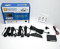 🔝 Парковочная система на 4 датчика парковки парктроник, Assistant Parking Sensor, парковочный радар | 🎁%🚚