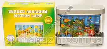 Лампа нічник акваріум 20см*25см, фото 2