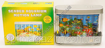 Лампа ночник аквариум 20см*25см, фото 2