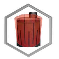 Тигель графитовый донного разлива 2 кг для CIMO, фото 1