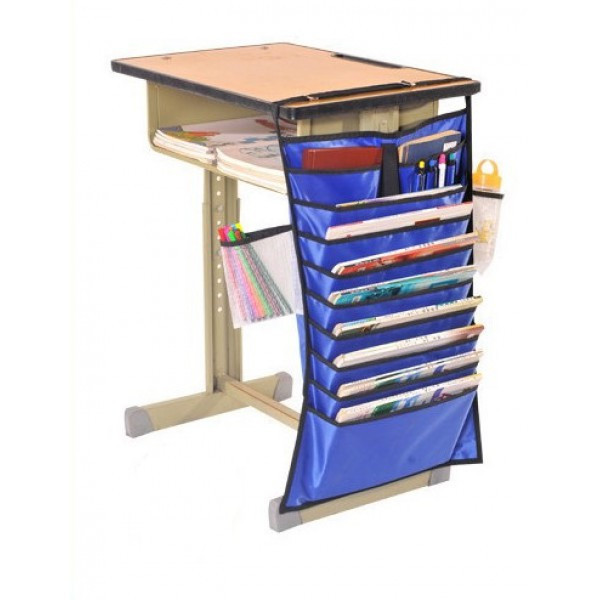 Настольный органайзер для учебных книг и тетрадей. Синий, Органайзеры для дома и путешествий