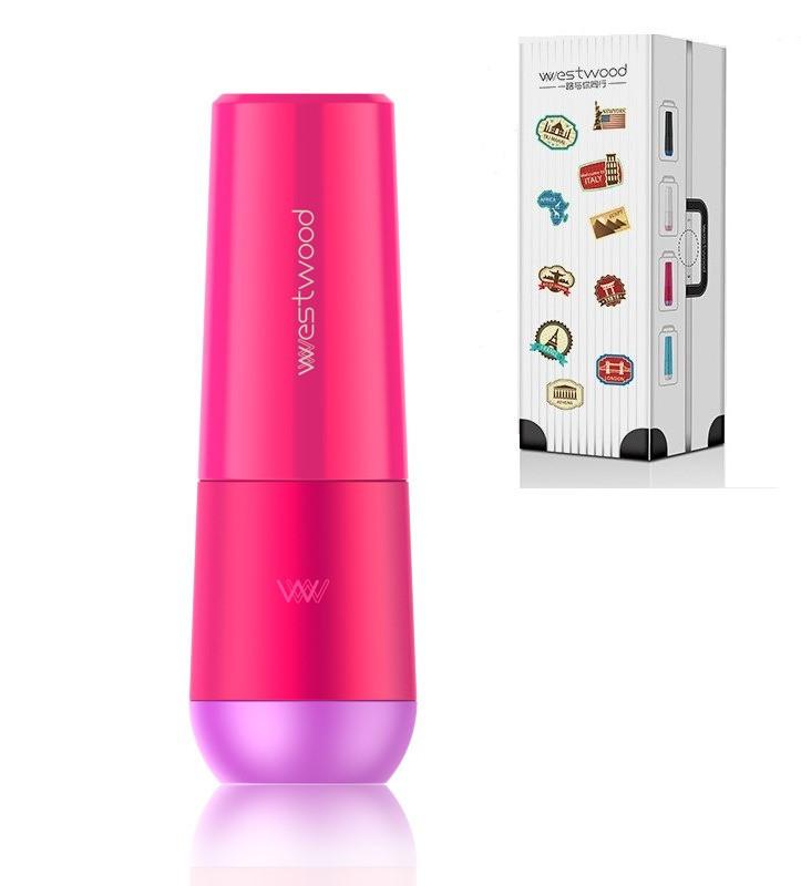 Travel чашка Westwood для зубной пасты и щетки. Темно-розовая, Спорт и отдых