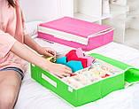 Комбинированный органайзер для нижнего белья с крышкой. Зеленый, Органайзеры для дома и путешествий, фото 5