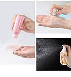 Дорожный набор емкостей для косметики Yuemei Travel Bottles № 2 (100мл/4 шт.), Красота и уход, фото 5
