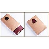 Винтажный блокнот с якорем и штурвалом. Красно-коричневый, Подарочные блокноты, фото 2
