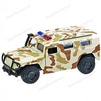 Игрушечный металлический джип ГАЗ Тигр, фото 1