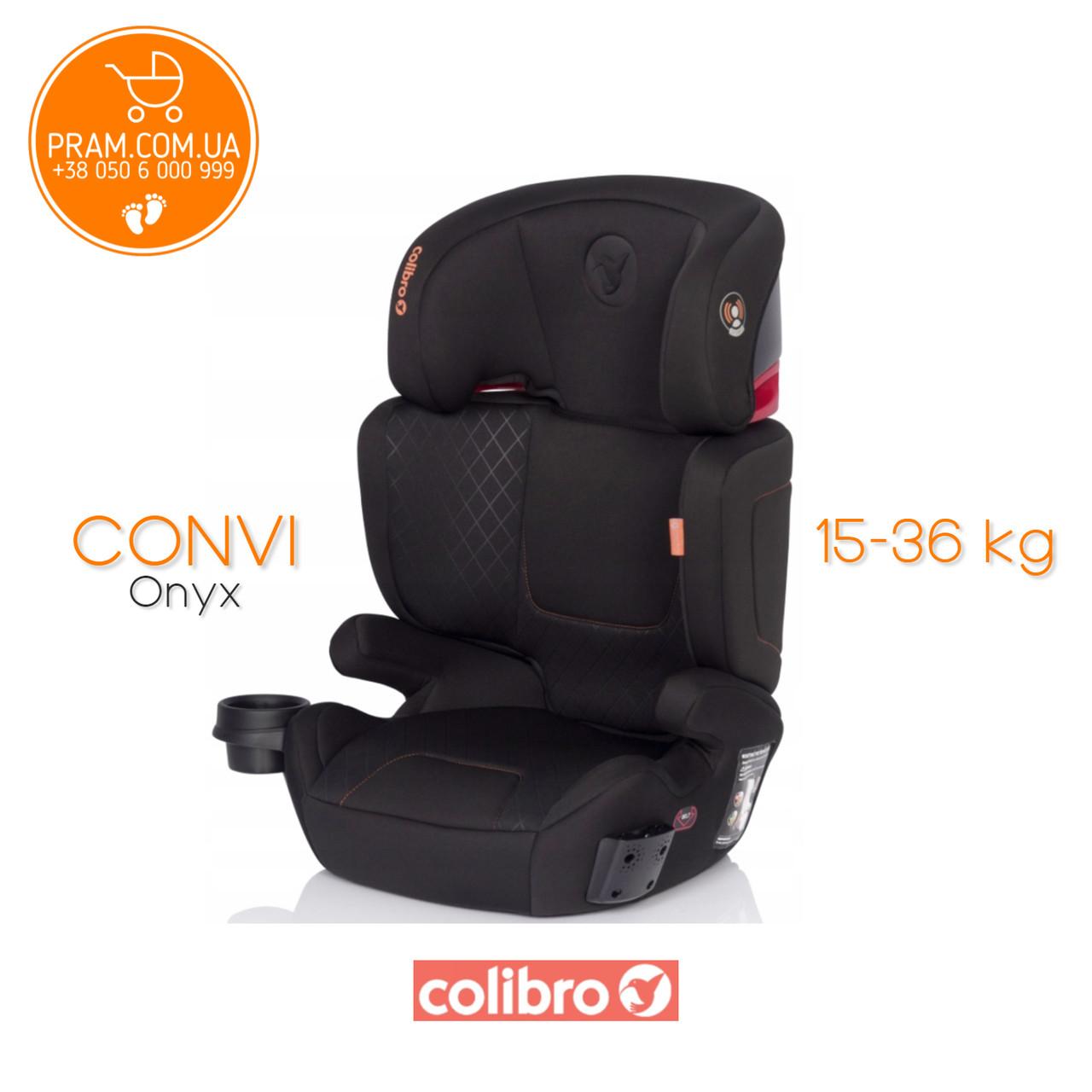 COLIBRO CONVI автокресло группы 2-3 (15-36 кг) Onyx Черный, фото 1