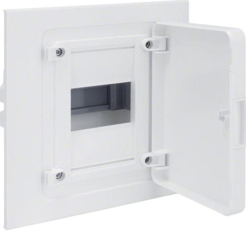 Щит внутреннего монтажа GOLF Hager 4 мод. с белыми дверцами (VF104PD)