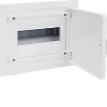 Щит внутреннего монтажа GOLF Hager 8 мод. с белыми дверцами (VF108PD)