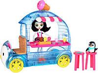 Уценка! Набор Enchantimals Фургончик с мороженым Прины Пингвины