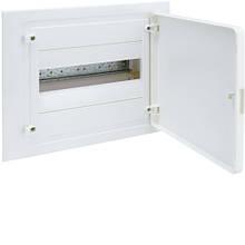 Щит внутреннего монтажа GOLF Hager 12 мод. с белыми дверцами (VF112PD)