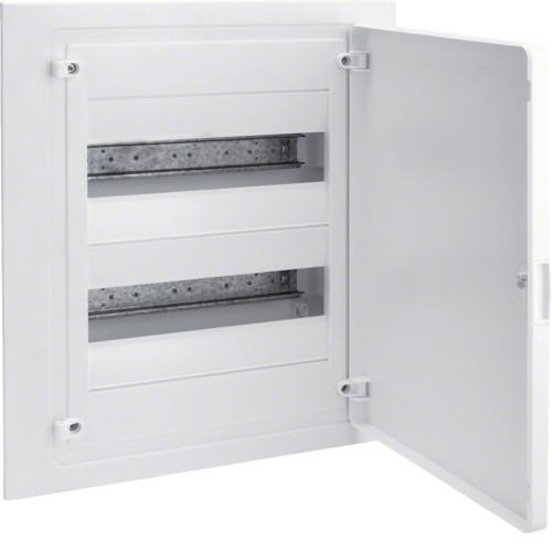 Щит внутреннего монтажа GOLF Hager 24 мод. с белыми дверцами (VF212PD)