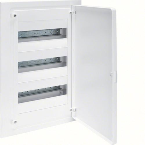 Щит внутреннего монтажа GOLF Hager 36 мод. с белыми дверцами (VF312PD)