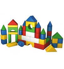 2612 Детский конструктор, набор строительных элементов Веселка 3 (46 деталей) пластик Технок