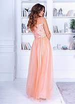 Очаровательное нежное платье в пол, фото 3