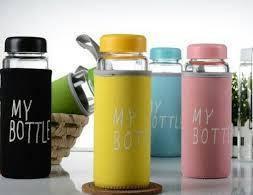 "Бутылка для воды в чехле ""My Bottle"" 500 мл, фото 2"