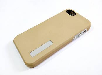 Чехол противоударный Dual Pro для iPhone 5 / 5s / 5se поликарбонат золотой