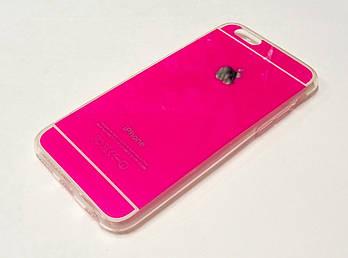 Чехол силиконовый для iPhone 6 / 6s розовый